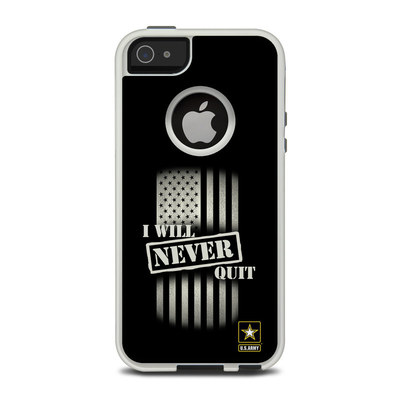 OtterBox Commuter iPhone 5 Case Skin - Never Quit