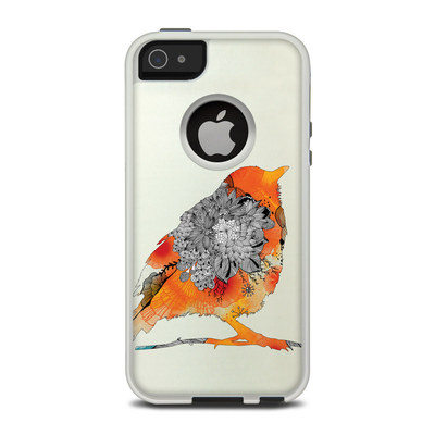 OtterBox Commuter iPhone 5 Case Skin - Orange Bird
