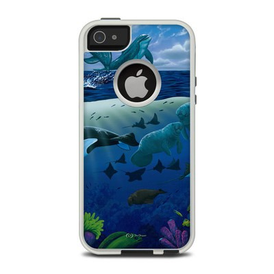 OtterBox Commuter iPhone 5 Case Skin - Oceans For Youth