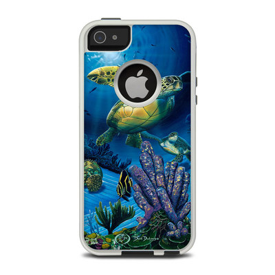 OtterBox Commuter iPhone 5 Case Skin - Ocean Fest