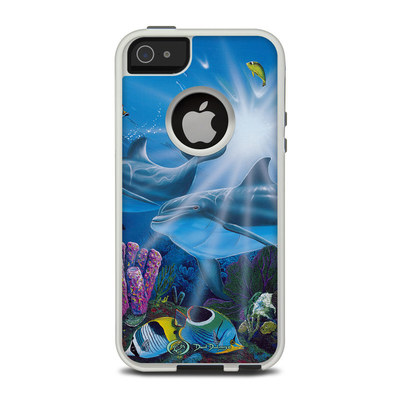 OtterBox Commuter iPhone 5 Case Skin - Ocean Friends