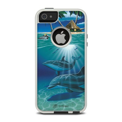 OtterBox Commuter iPhone 5 Case Skin - Ocean Serenity