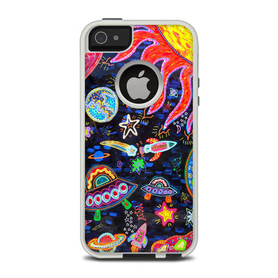 OtterBox Commuter iPhone 5 Case Skin - Out to Space