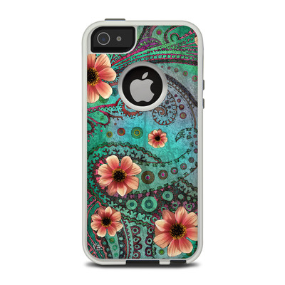 OtterBox Commuter iPhone 5 Case Skin - Paisley Paradise