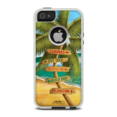 OtterBox Commuter iPhone 5 Case Skin - Palm Signs
