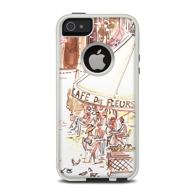OtterBox Commuter iPhone 5 Case Skin - Paris Makes Me Happy