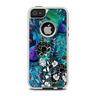 OtterBox Commuter iPhone 5 Case Skin - Peacock Garden