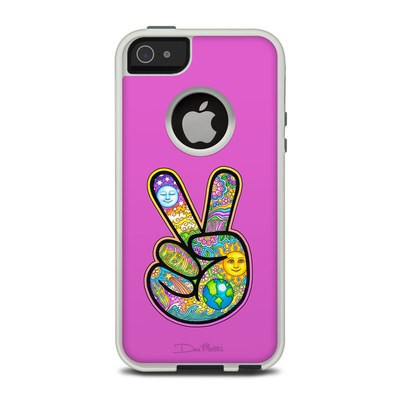 OtterBox Commuter iPhone 5 Case Skin - Peace Hand