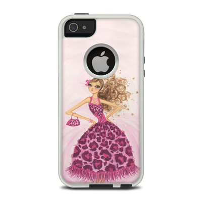 OtterBox Commuter iPhone 5 Case Skin - Perfectly Pink