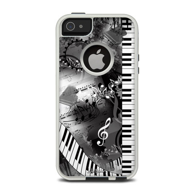 OtterBox Commuter iPhone 5 Case Skin - Piano Pizazz