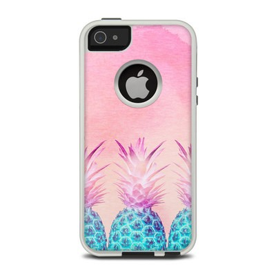 OtterBox Commuter iPhone 5 Case Skin - Pineapple Farm