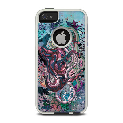 OtterBox Commuter iPhone 5 Case Skin - Poetry in Motion