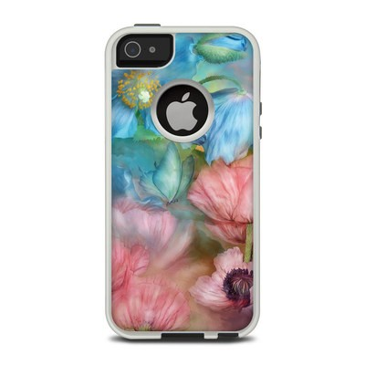 OtterBox Commuter iPhone 5 Case Skin - Poppy Garden