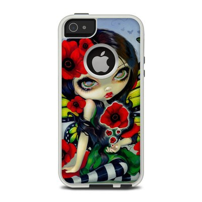OtterBox Commuter iPhone 5 Case Skin - Poppy Magic