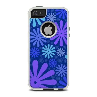 OtterBox Commuter iPhone 5 Case Skin - Indigo Punch
