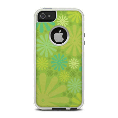 OtterBox Commuter iPhone 5 Case Skin - Lime Punch