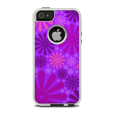 OtterBox Commuter iPhone 5 Case Skin - Purple Punch