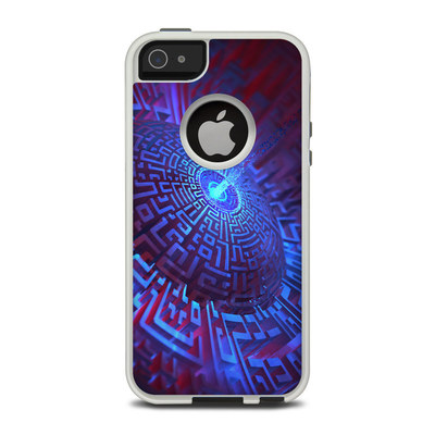 OtterBox Commuter iPhone 5 Case Skin - Receptor