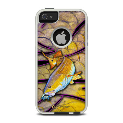 OtterBox Commuter iPhone 5 Case Skin - Red Fish