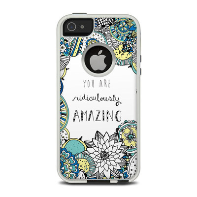 OtterBox Commuter iPhone 5 Case Skin - You Are Ridic