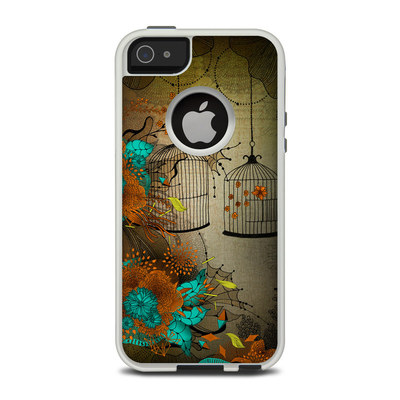 OtterBox Commuter iPhone 5 Case Skin - Rusty Lace