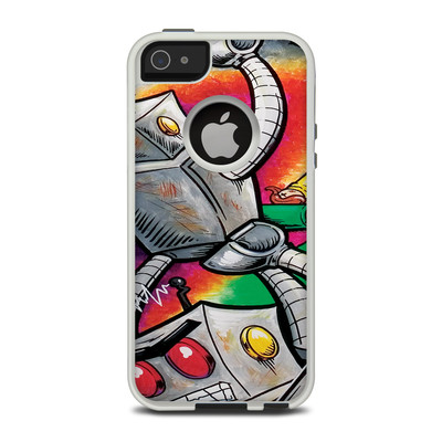 OtterBox Commuter iPhone 5 Case Skin - Robot Beatdown