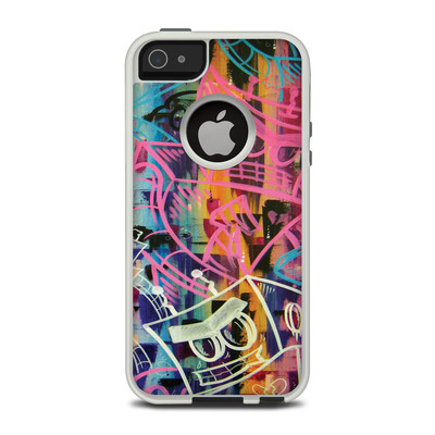 OtterBox Commuter iPhone 5 Case Skin - Robot Roundup