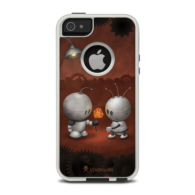 OtterBox Commuter iPhone 5 Case Skin - Robots In Love