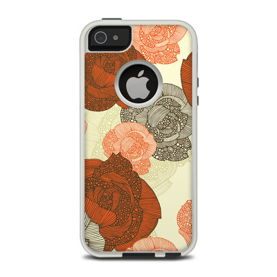 OtterBox Commuter iPhone 5 Case Skin - Roses