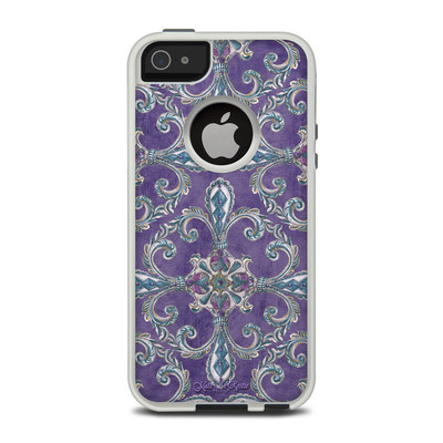 OtterBox Commuter iPhone 5 Case Skin - Royal Crown