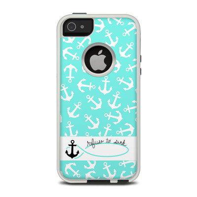 OtterBox Commuter iPhone 5 Case Skin - Refuse to Sink