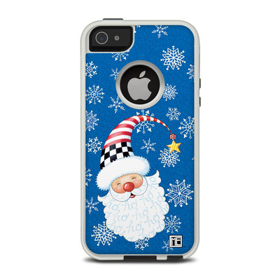 OtterBox Commuter iPhone 5 Case Skin - Santa Snowflake