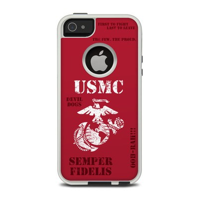 OtterBox Commuter iPhone 5 Case Skin - Semper Fi