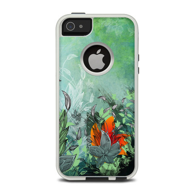 OtterBox Commuter iPhone 5 Case Skin - Sea Flora