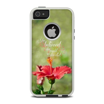 OtterBox Commuter iPhone 5 Case Skin - She Believed