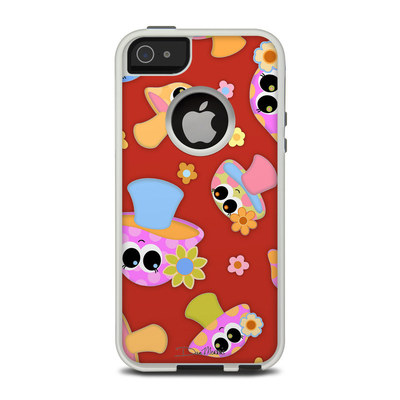 OtterBox Commuter iPhone 5 Case Skin - Shroomies