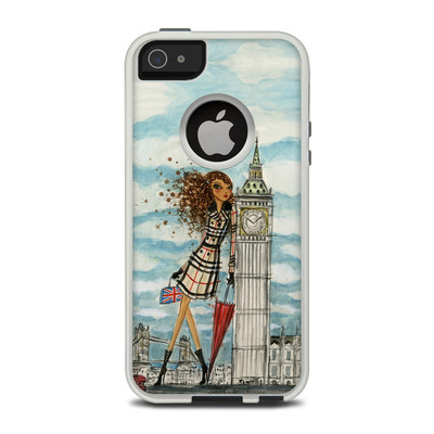 OtterBox Commuter iPhone 5 Case Skin - The Sights London