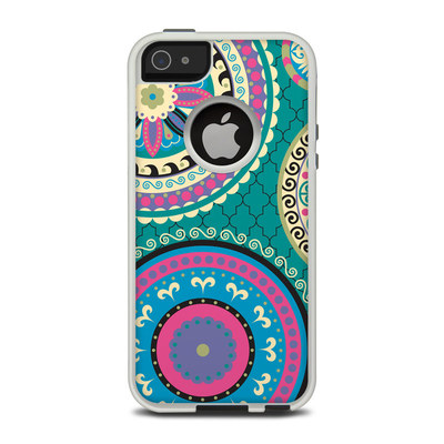 OtterBox Commuter iPhone 5 Case Skin - Silk Road