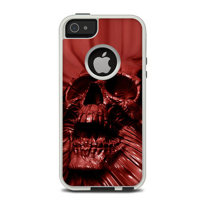 OtterBox Commuter iPhone 5 Case Skin - Skull Blood