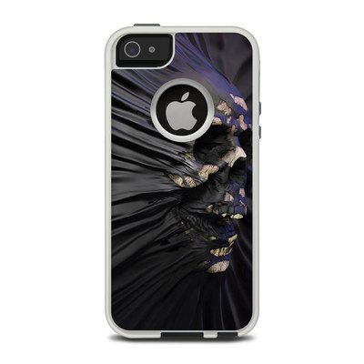 OtterBox Commuter iPhone 5 Case Skin - Skull Breach