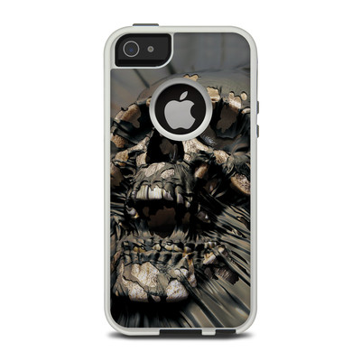 OtterBox Commuter iPhone 5 Case Skin - Skull Wrap