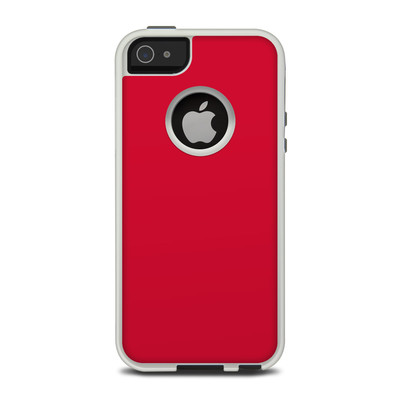 OtterBox Commuter iPhone 5 Case Skin - Solid State Red