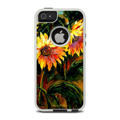 OtterBox Commuter iPhone 5 Case Skin - Sunflower Sunshine