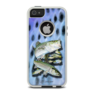 OtterBox Commuter iPhone 5 Case Skin - Striped Bass