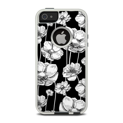 OtterBox Commuter iPhone 5 Case Skin - Striped Blooms