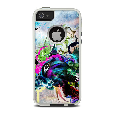 OtterBox Commuter iPhone 5 Case Skin - Streaming Eye