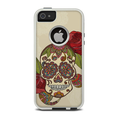 OtterBox Commuter iPhone 5 Case Skin - Sugar Skull