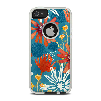 OtterBox Commuter iPhone 5 Case Skin - Sunbaked Blooms