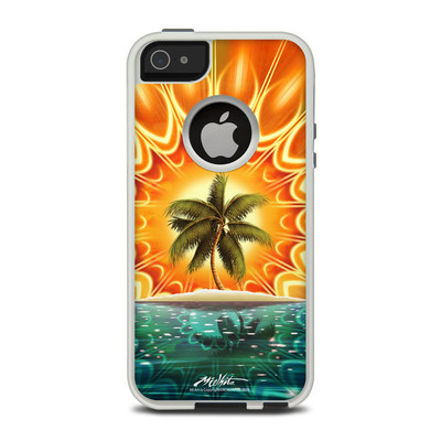 OtterBox Commuter iPhone 5 Case Skin - Sundala Tropic