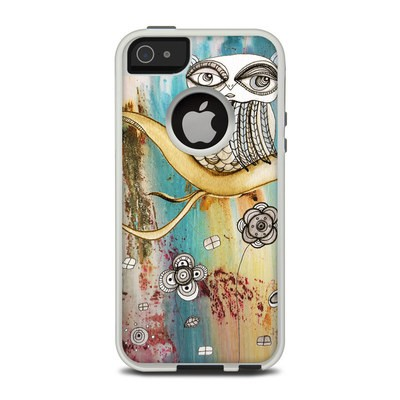 OtterBox Commuter iPhone 5 Case Skin - Surreal Owl